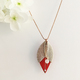 Photo Collier Tulipe Rouge
